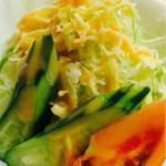 レストラン イト - 付け合せサラダ