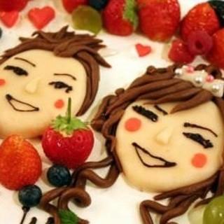 大切な人のお誕生日・記念日には、サプライズの似顔絵ケーキ♪♪