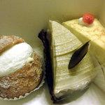 あさひや - ケーキ3種 2010.9