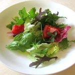 カレント - (Aランチ)新鮮野菜サラダ!