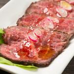 エロうま野菜と肉バル カンビーフ - とろけるローストビーフ