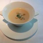 meindaininguitozakura - 新じゃがスープ