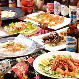 世界中の美味しい料理を390円~気軽にお楽しみいただけます!