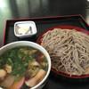 そば処信玄 - 料理写真:地鶏蕎麦大盛り1410円