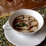 51723052 - 甲州市沼産舞茸のスープ