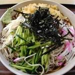51724909 - 冷したぬき蕎麦(大盛)