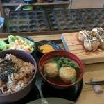 タコとケンタロー - ケンタコ定食B¥800 2016/6/1(水)