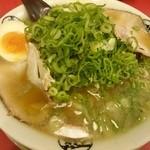 藤一番 - 2016年5月 しょうゆらーめん+ネギ 650+50円