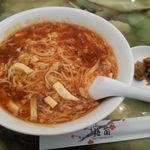 51728280 - 酸辣湯麺ランチ