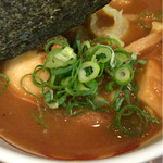 三豊麺 - スープアップ
