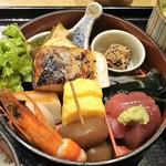 Akasakaajisai - ランチ:特製小箱弁当