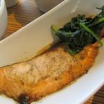 小石川テラス - 北海道産鮭の青しそ風味焼き