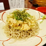 51729839 - 本日の天ぷら:真鯛とエンドウ豆のかき揚げ