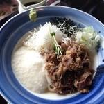 味の民芸 - 料理写真:冷やし肉すきうどん