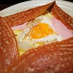 51730204 - ホワイトアスパラガス 卵                       ジャンボンブラン チーズ