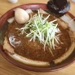 ラーメン むてっぽう - ピリ辛醤油チャーシュー麺❣️