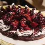 ル サロン ジャック・ボリー - ラズベリーのケーキ