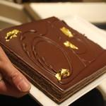 ル サロン ジャック・ボリー - ビターなチョコケーキ