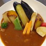 かふぇ&れすと 縄手通り - 季節の野菜カレー 中辛