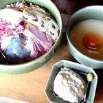 お好み焼道場 八代 - お好み焼き タルタルソース