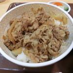 すき家 - 牛丼