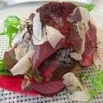 ビストロ ダイア - 栃木県産牛フィレ肉とフランス産鴨フォアグラのポワレ
