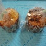 麦2 - 長生地卵の卵黄マフィン