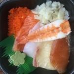 海鮮づくし丼丸 - 6月の特選丼