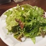 グリーン ルーム - 自家製野菜のサラダ