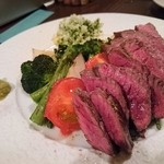 グリーン ルーム - 牛ランプステーキ エスカルゴバター