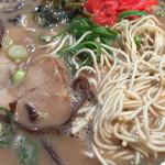 ドン.チードル - 辛子高菜と紅生姜をトッピング*\(^o^)/*