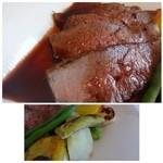 メゾン ドゥ アッシュ - *お肉自体は「とも三角」にしては少しパサつき感を感じましたし旨みに欠けるかと。 お肉も仕入れで変わりますから、たまたまかもしれません。