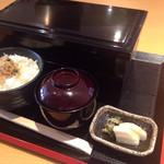 京料理 一輪 - 二段重の松花堂