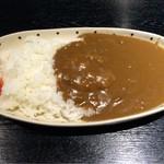 領山 - お昼のカレーは300円! 肉も入ってますよ!笑