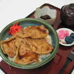 天塩川温泉 - 豚丼