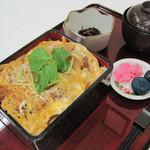 天塩川温泉 - かつ丼