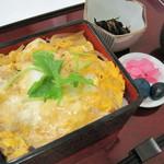 天塩川温泉 - 知床鶏の親子丼