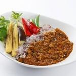 Edit!table - 【ランチ】旬のお野菜いっぱいのスパイシーキーマカレー