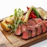 Edit!table - 厳選!国産黒毛和牛の赤身肉厚切りステーキ