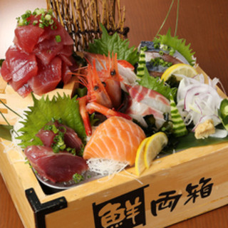 【柳橋市場直送鮮魚】自慢の鮮魚盛り!