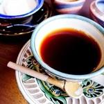 琉球料理 ぬちがふぅ - コーヒーとさとうきびのアイス。