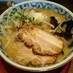 らー麺屋 バリバリジョニー - 生姜味噌ラーメン(白味噌仕立て)