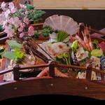 山海亭 - 料理写真:刺身盛り合わせ     宴会用