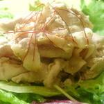 TOMOSHIBI - 夏のSP:豚ロースのごましゃぶサラダ \700