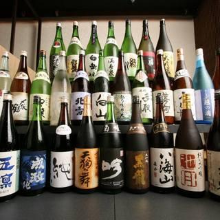 利酒師厳選,北陸,新潟,長野の5県に特化した日本酒常時80種