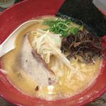 中華そば うづまき - 豚骨醤油ラーメン