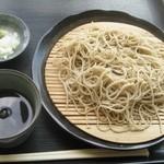 森ぴか - もり蕎麦800円