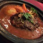 タムタム - タムタム(東京都杉並区松庵)ラム肉のハンバーグ 1200円