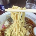 51763913 - 細麺はスープとの相性も良かったです。