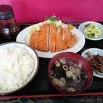 富士食堂 - ロースカツライス